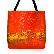 Red Rusty Backgound Tote Bag