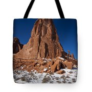 Red Sandstone Arches National Park Utah Tote Bag