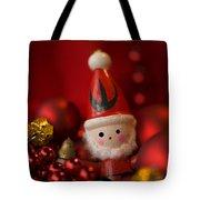 Red Santa Tote Bag