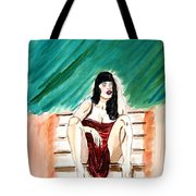 Red Sexy Passion Tote Bag