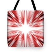 Red Silk Star Tote Bag