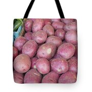 Red Skin Potatoes Stall Display Tote Bag