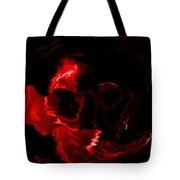 Red Skull  Tote Bag