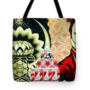 Red Sky Tonight Tote Bag