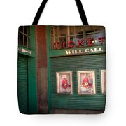Red Sox Tickets Will Call Tote Bag
