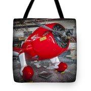 Red Speedster Tote Bag