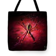 Red Spider Tote Bag