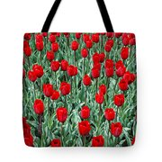 Red Spring Tote Bag