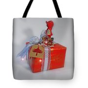 Red Squirrel Gift Tote Bag