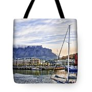 Red Statue Tote Bag