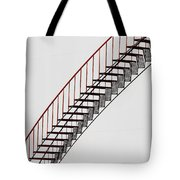 Red Steps On Tank 2 Tote Bag