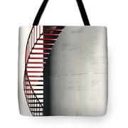 Red Steps On Tank Tote Bag