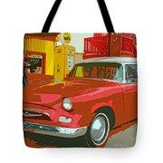 Red Studebaker Tote Bag
