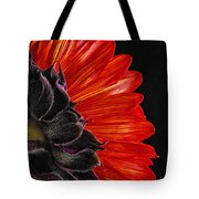 Red Sunflower Vii  Tote Bag