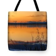 Red Sunset. Valencia Tote Bag