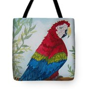 Red Tail Macaw Too Tote Bag