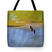Red Tears Tote Bag
