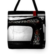 Red Thread Tote Bag