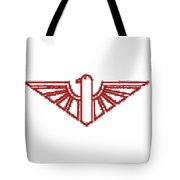 Red Thunderbird 1 Tote Bag
