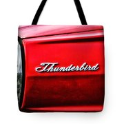 Red Thunderbird Tote Bag
