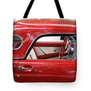 Red Thunderbird Tote Bag