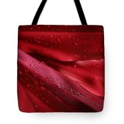 Red Ti The Queen Of Tropical Foliage Tote Bag