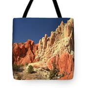 Red To White To Blue Tote Bag