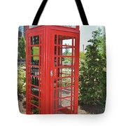 Red Token Booth Tote Bag