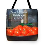 Red Tomatoes Tote Bag