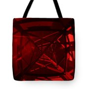 Red Tower Tote Bag