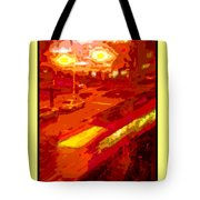 Red Trolley Portland Tote Bag