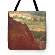 red Tsingy landscape Madagascar 2 Tote Bag