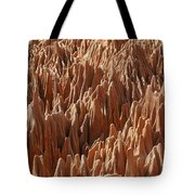 red Tsingy Madagascar 3 Tote Bag