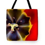 Red Tulip Macro Tote Bag