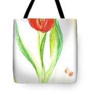 Red Tulip -of Amsterdam   Tote Bag