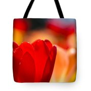 Red Tulip Tote Bag
