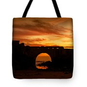 Red Twilight I Tote Bag