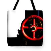 Red Valve  Tote Bag by Bob Orsillo