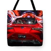 Red Velocity Tote Bag