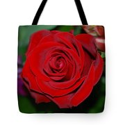 Red Velvet Rose Tote Bag