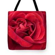 Red Velvety Rose Tote Bag