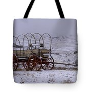 Red-wheeled Wagon   #0662 Tote Bag