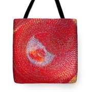 Red Whirlpool Tote Bag