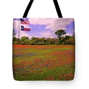 Red White And Beautiful Tote Bag