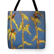 Red Wing Blackbirds In The Corn Tote Bag