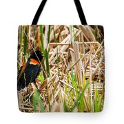 Red-wing Hiding Tote Bag