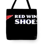 Red Wing Shoes 2 Tote Bag
