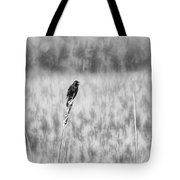 Red-wing Singing In The Marsh Tote Bag