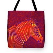 Red Zebra Tote Bag