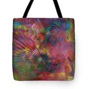 Redazzled - Square Version Tote Bag